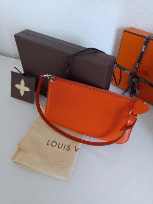 Louis Vuitton Poszetka ciemny pomarańcz