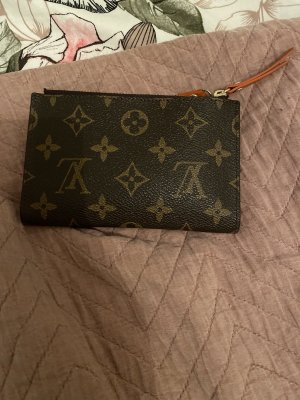 Louis Vuitton Wallet orange-brown
