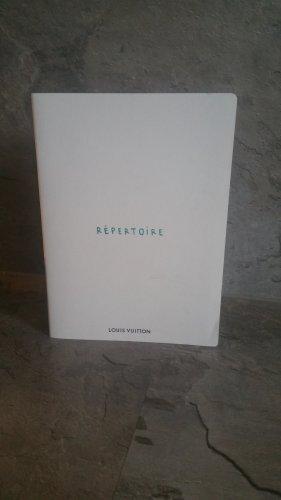 Louis Vuitton Estuche blanco-color plata