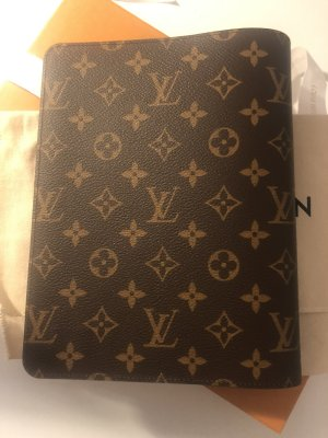 Louis Vuitton Writing Case brown-camel leather