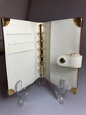 Louis Vuitton Tarjetero crema-color oro