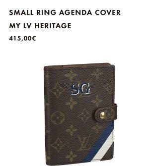 Louis Vuitton Agenda PM MY LV HERITAGE