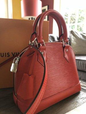 Louis vuitton Alma BB epi leather Coquelic