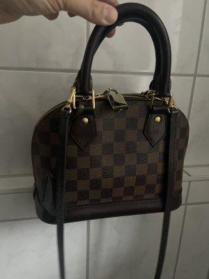 Louis Vuitton Bolsa de hombro marrón-negro