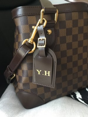Louis Vuitton Llavero marrón oscuro