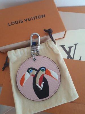 Louis Vuitton Sac à main argenté-or rose cuir