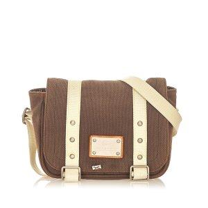 Louis Vuitton Sac bandoulière brun foncé