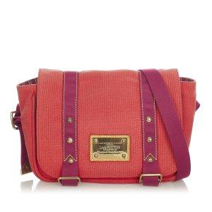 Louis Vuitton Sac bandoulière rouge