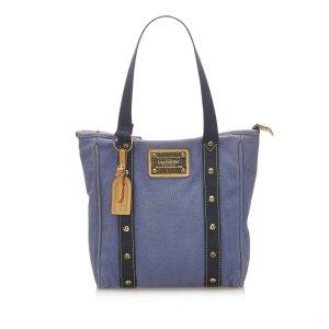Louis Vuitton Bolso de compra azul