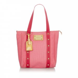 Louis Vuitton Tote red