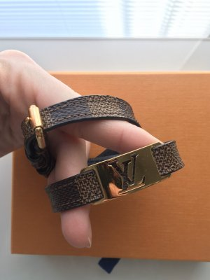 Louis Vuitton Armband Damier Ebene Gold