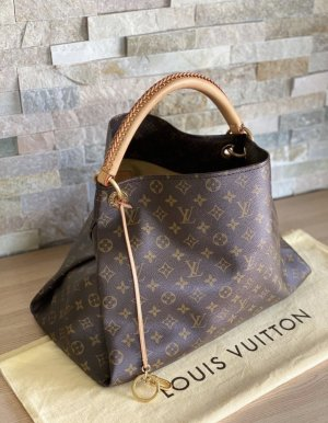 Louis Vuitton Torebka z rączkami jasnobrązowy-ciemnobrązowy