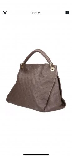 Louis Vuitton Handbag taupe leather
