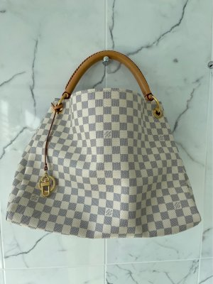 Louis Vuitton Carry Bag cream-steel blue