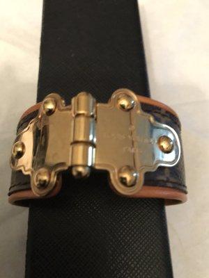 Louis Vuitton Bracelet brun cuir