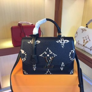 Louis Vuitton Handbag black-bronze-colored