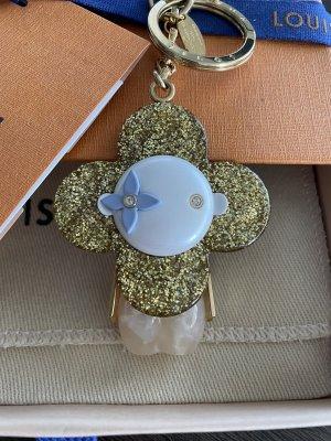 Louis Vuitton Porte-clés doré-rose clair