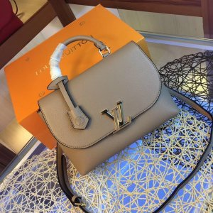 Louis Vuitton Handbag grey brown