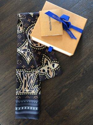 Louis Vuitton Silk Cloth dark brown