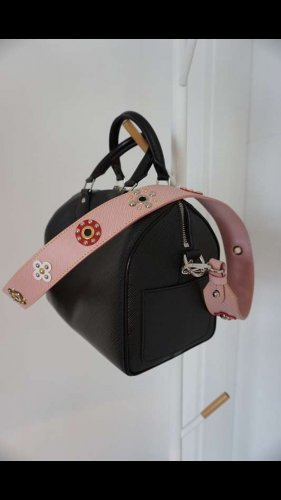Louis Vuitton BANDOULIÈRE Schulterriemen pink floral limited Edition 100% Original NP700€