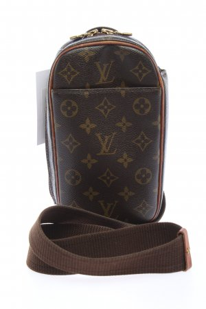 Louis Vuitton Bauchtasche braun-creme Allover-Druck Casual-Look