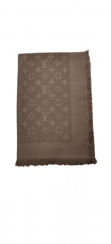 Louis Vuitton Beige Scarf color M72238