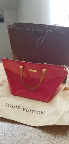 Louis Vuitton Carry Bag neon red-raspberry-red