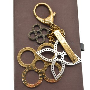 Louis Vuitton Key Chain multicolored metal