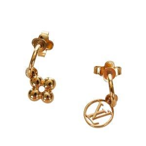 Louis Vuitton Oorbellen goud Metaal