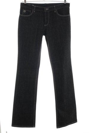 Louis Vuitton Boot Cut Jeans schwarz Casual-Look