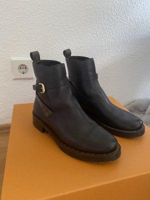 Louis Vuitton Chelsea Boots black-bronze-colored