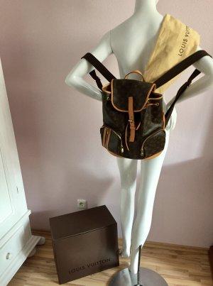Louis Vuitton Daypack grey brown-dark yellow leather