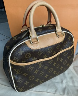 Louis Vuitton Borsa da bowling marrone