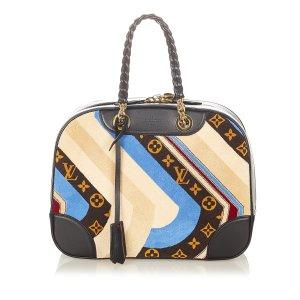 Louis Vuitton Bolso negro Fibra sintética