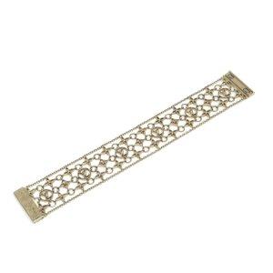 Louis Vuitton Brass Filigram Bracelet