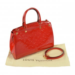 Louis Vuitton Bréa MM Mon. Vernis Leder Cherry @mylovelyboutique.com