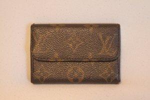 Louis Vuitton Custodie portacarte marrone Pelle