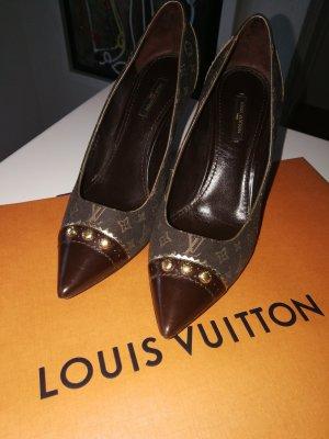 Louis Vuitton Canvas Pumps