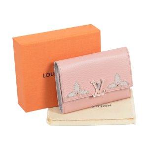 Louis Vuitton Capucines Compact Leder Geldbörse @mylovelyboutique.com