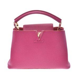 Louis Vuitton Handbag pink leather