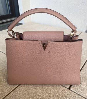 Louis Vuitton Capucines Handtasche Rosa