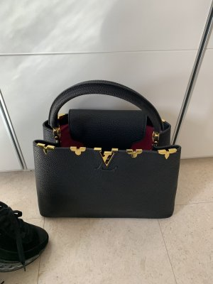 Louis Vuitton Tote black-gold-colored