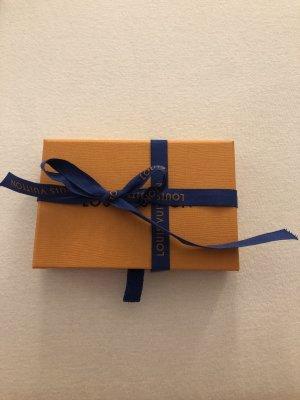 Louis Vuitton Card Case dark brown-light brown