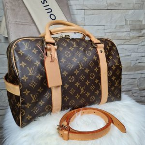 Louis Vuitton Torba weekendowa jasnobeżowy-brąz