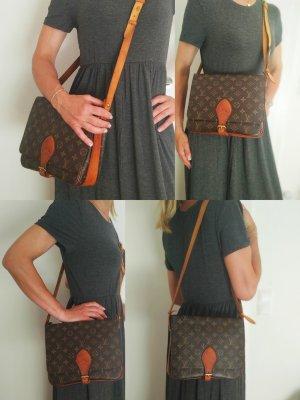 Louis Vuitton Crossbody bag light brown-dark brown