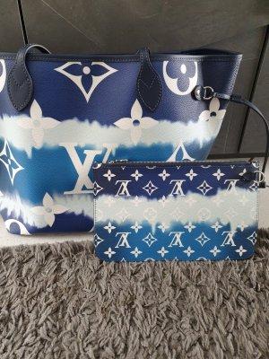 Louis Vuitton Handtas blauw