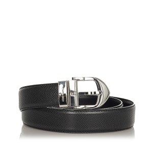 Louis Vuitton Riem zwart Leer