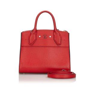 Louis Vuitton Cartella rosso Pelle