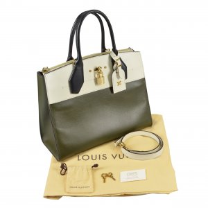 Louis Vuitton City Steamer Tote MM Leder Handtasche @mylovelyboutique.com