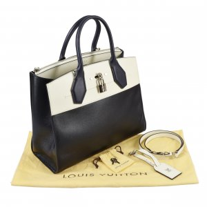 Louis Vuitton City Steamer Tote MM Leder Handtasche @mylovelyboutique.com